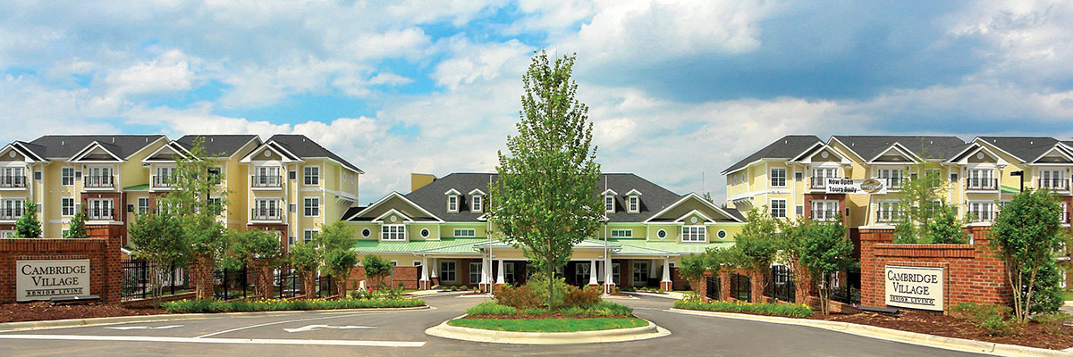 Cambridge Village of Apex - Independent Living - Entrance