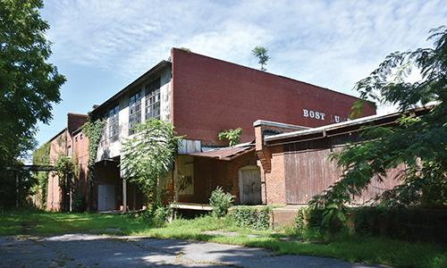 J. M. Bernhardt Planing Mill and Box Factory – Steele Cotton Mill, Lenoir