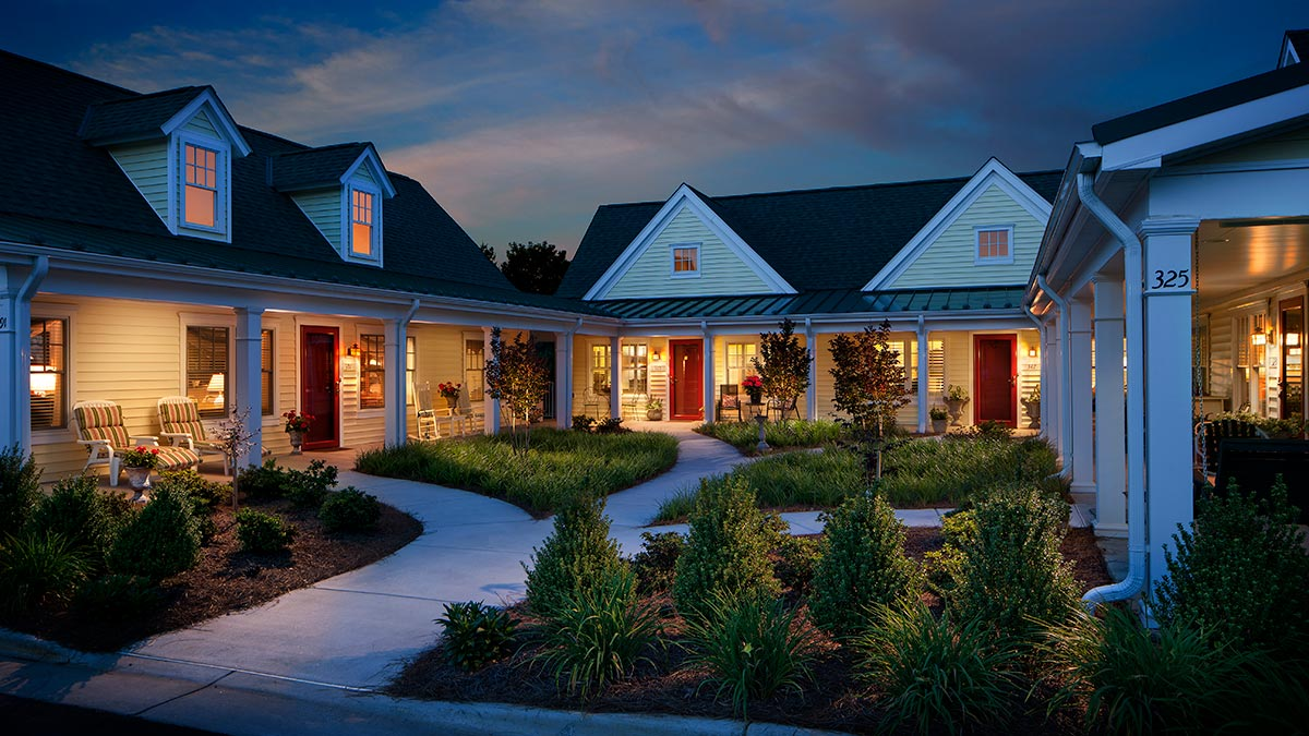 Arbor Acres - Independent Living - Courtyard Homes