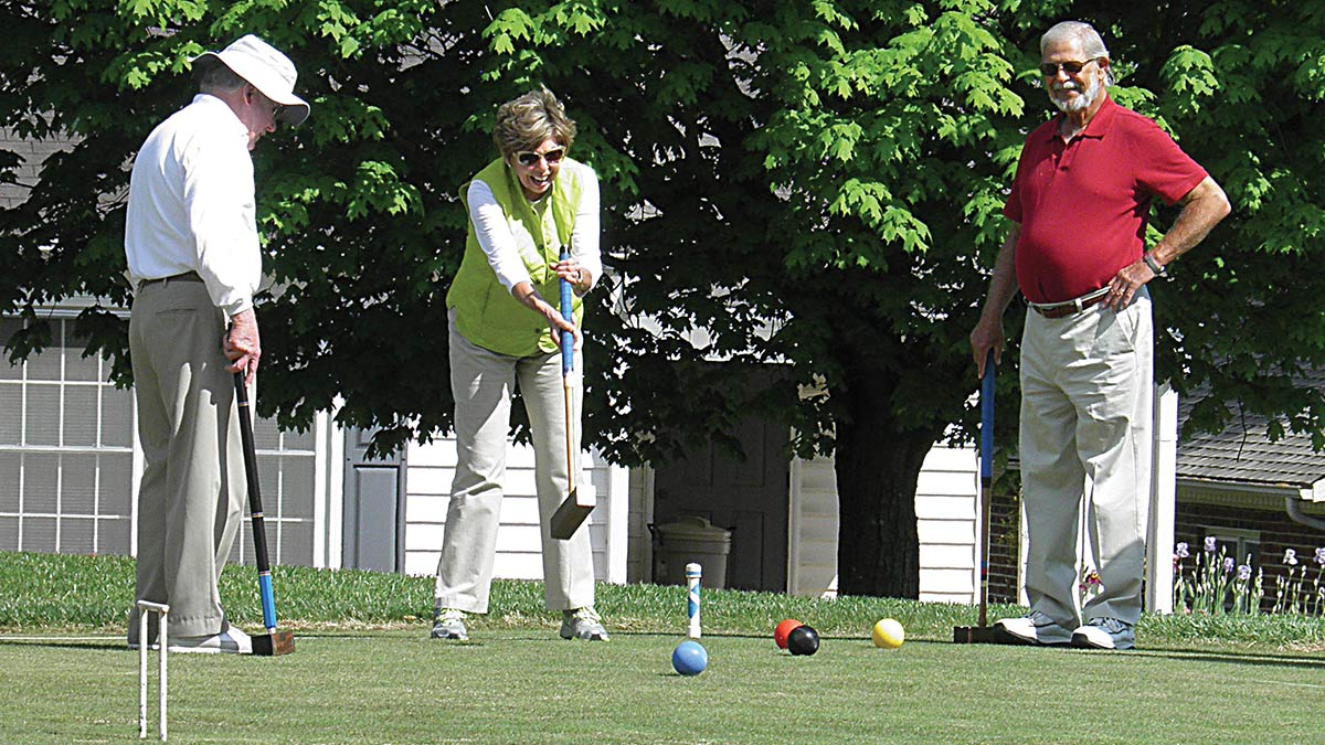 Arbor Acres - Independent Living - Croquet
