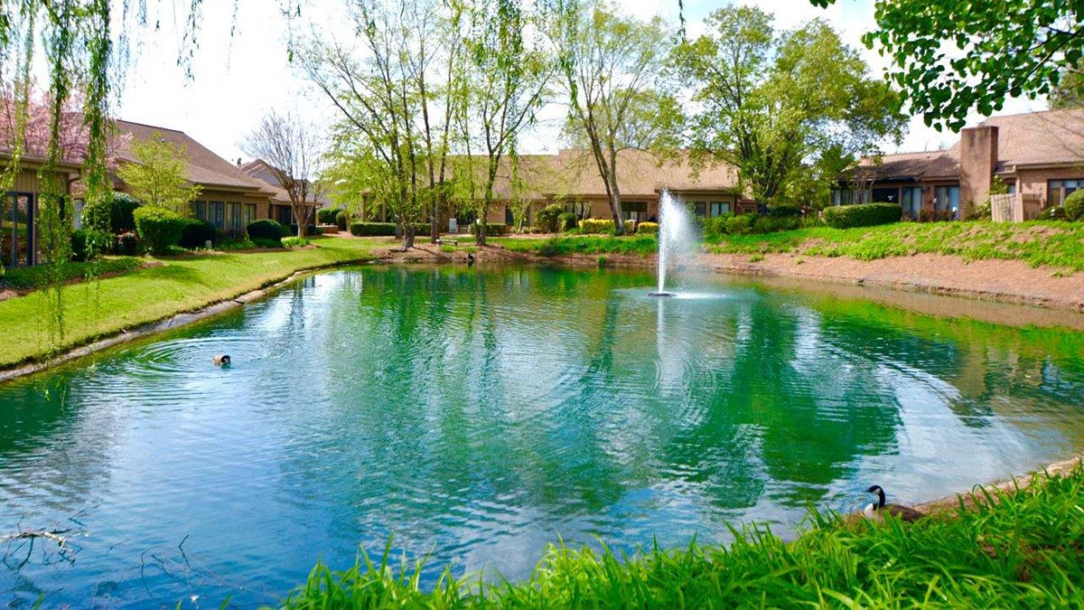 Bermuda Village - Independent Living - Pond