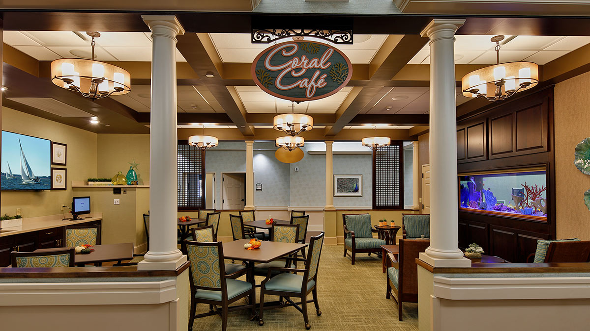 Bermuda Village - Rehabilitation & Nursing - Physical Therapy Addition - Coral Cafe