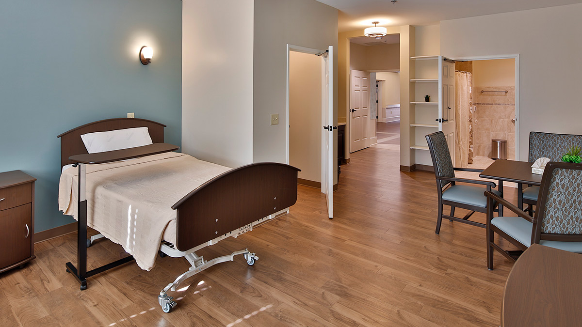 Bermuda Village - Rehabilitation & Nursing - Physical Therapy Addition - Residence Room