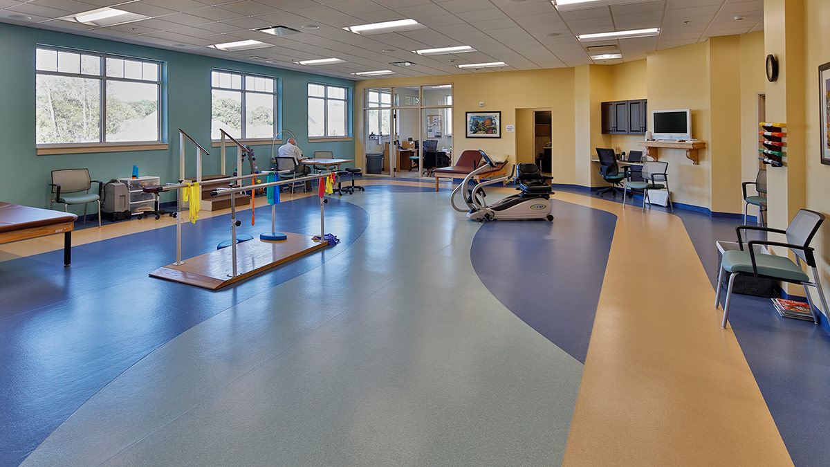 Bermuda Village - Rehabilitation & Nursing - Physical Therapy Addition - Therapy Room
