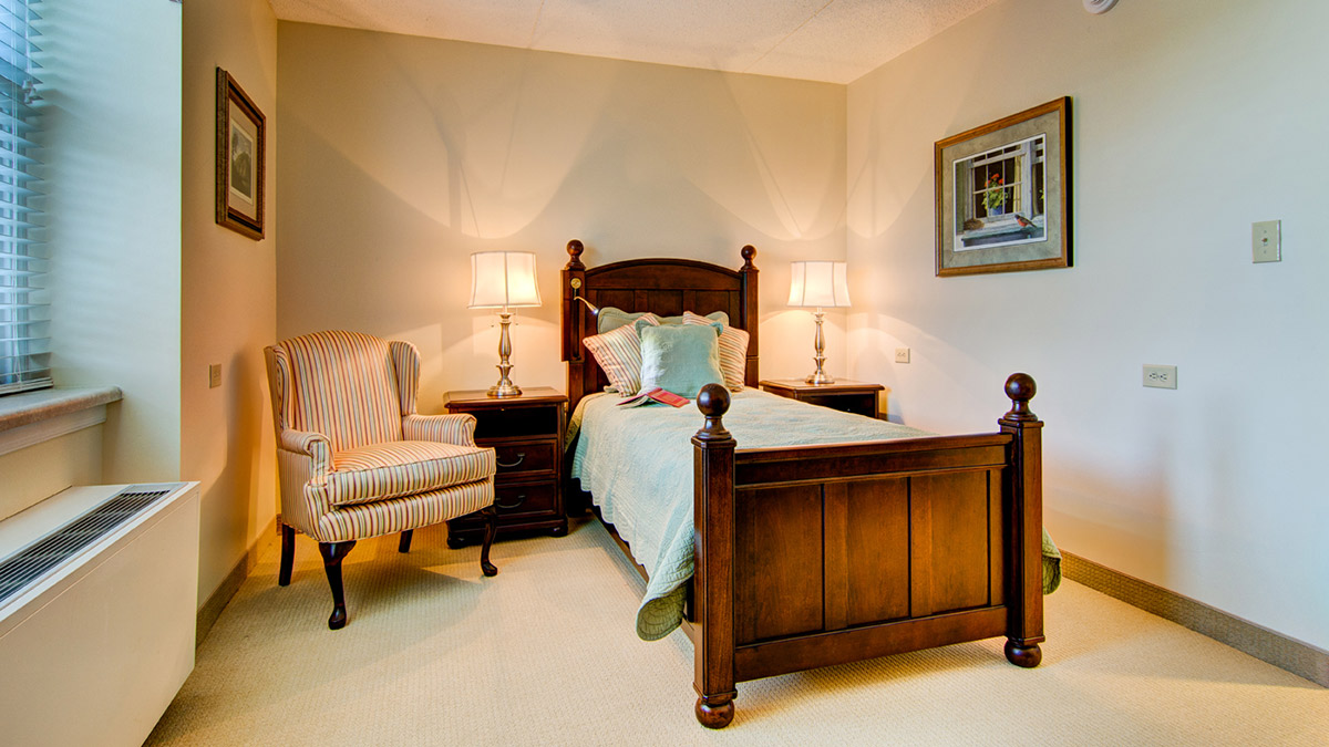 Salemtowne - Assisted Living - Bedroom