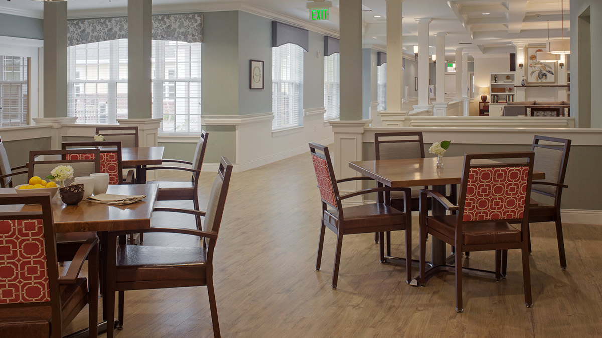 Salemtowne - Memory Care - Dining Room