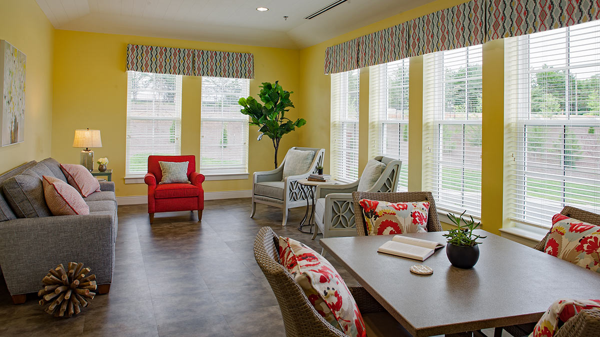 Salemtowne - Memory Care - Sunroom