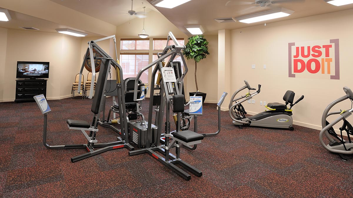 Whispering Pines - Independent Living - Fitness Room
