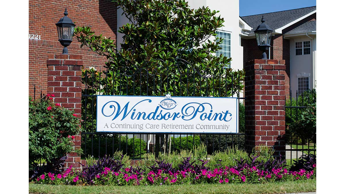 Windsor Point - Independent Living - Entrance