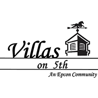 Villas on 5th - Logo