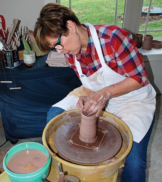 Creative Power - Debbie McDaniel - Pottery Wheel
