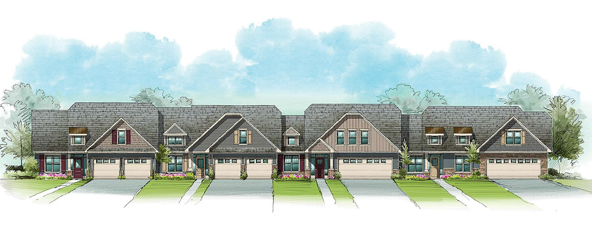 The Tapestry - 4-Unit Rendering
