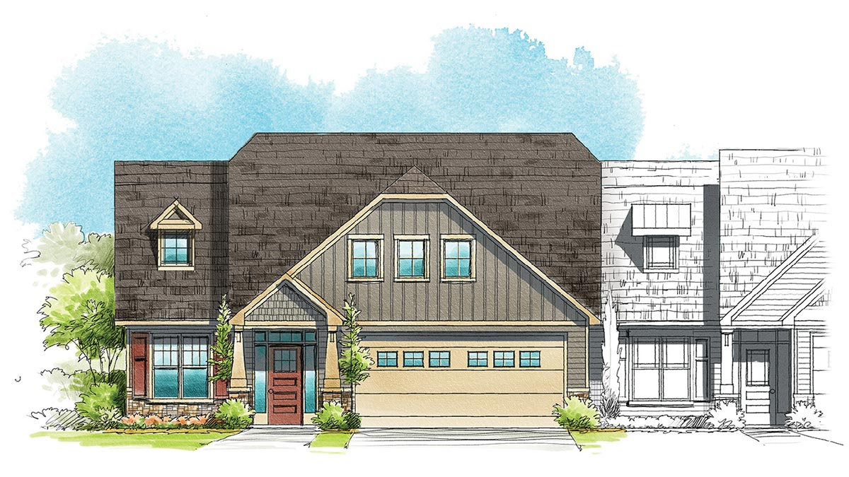 The Tapestry - Exterior Rendering