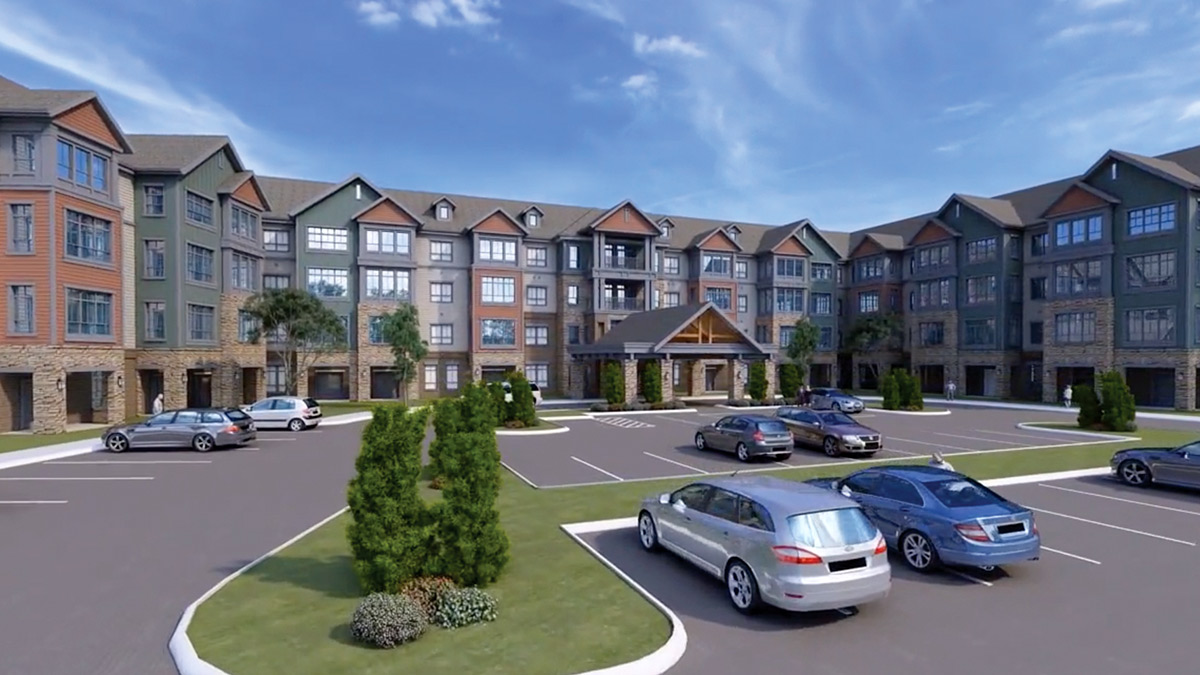 Harmony at Greensboro - Rendering