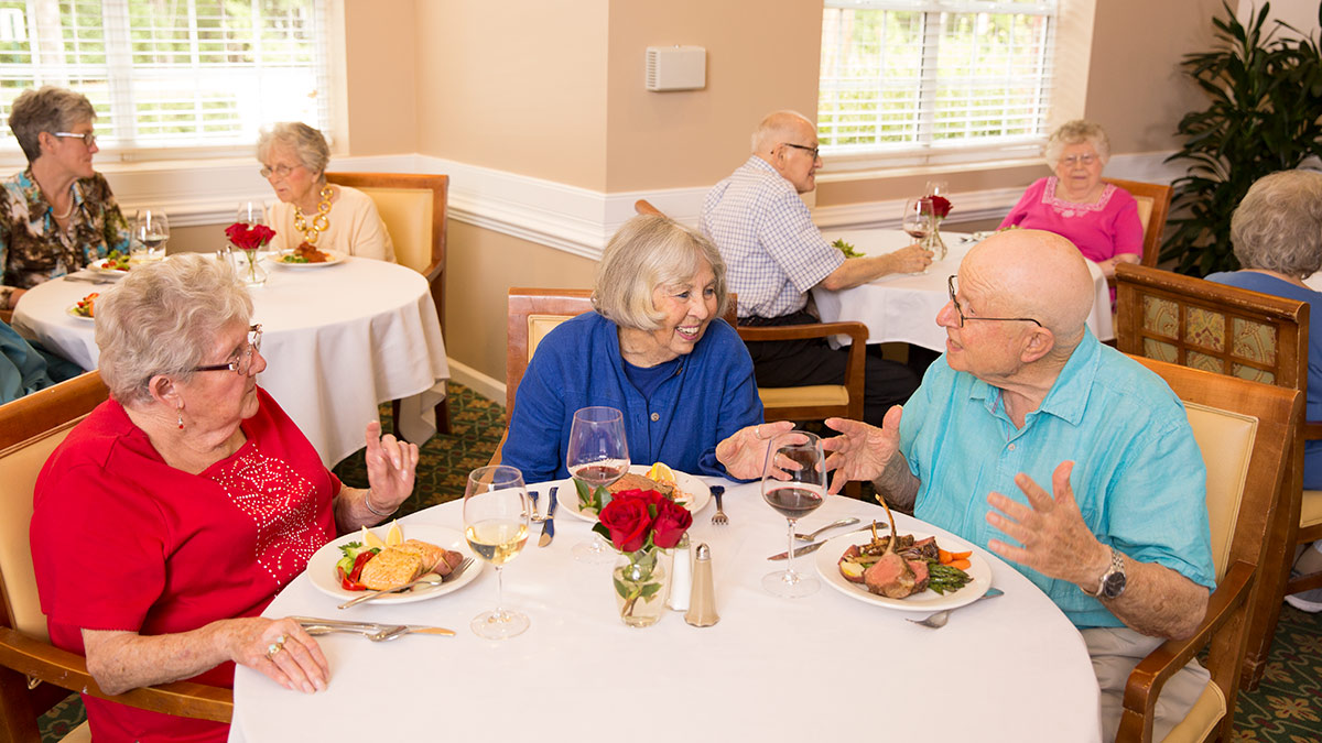 Kisco Senior Living - Abbotswood at Stonehenge - Dining