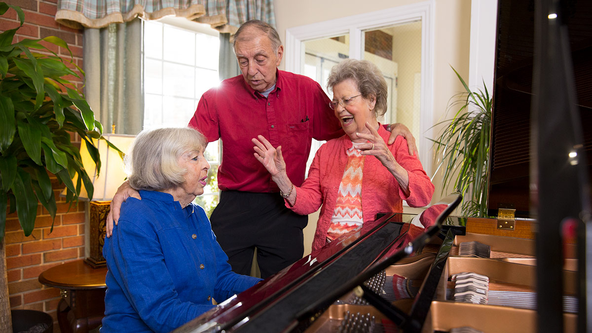 Kisco Senior Living - Abbotswood at Stonehenge - Piano