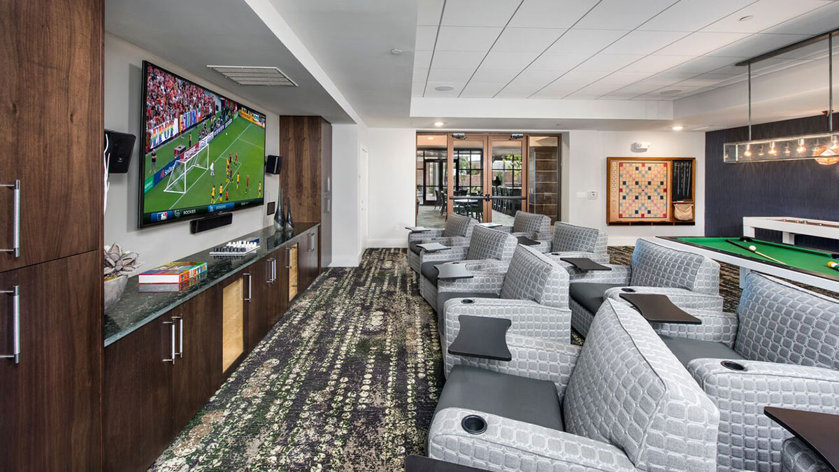 Overture Centennial - Clubhouse Gameroom