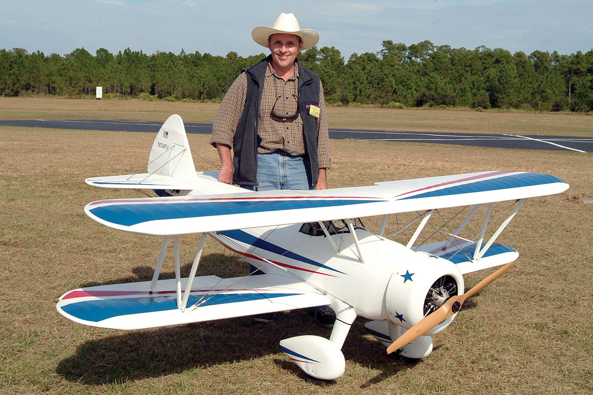 Salad Days - Doug Calaway with remote-controlled airplane