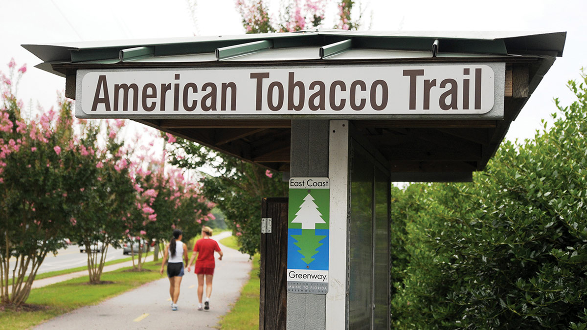 American Tobacco Trail - Bill Russ