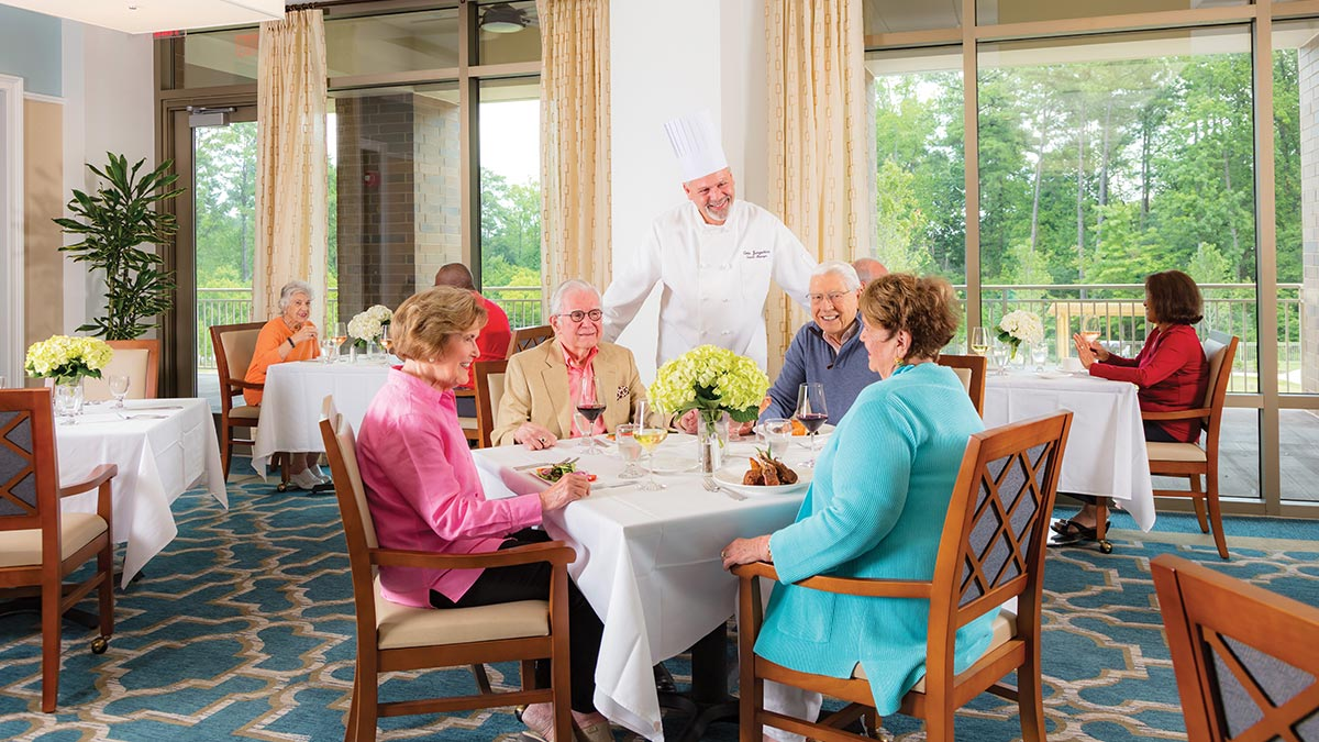 Kisco Senior Living - The Cardinal at North Hills - Dining