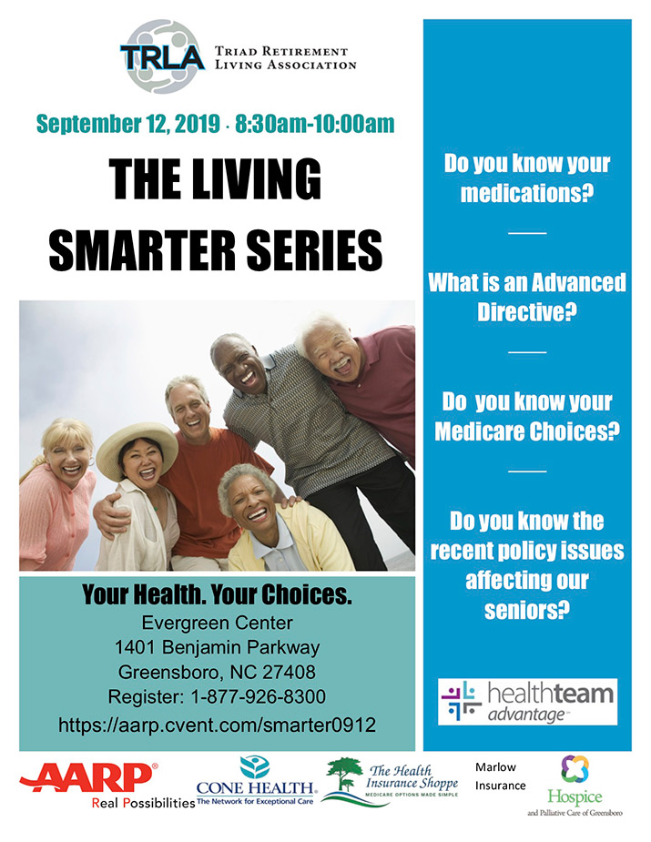 TRLA - Living Smarter Series Flyer