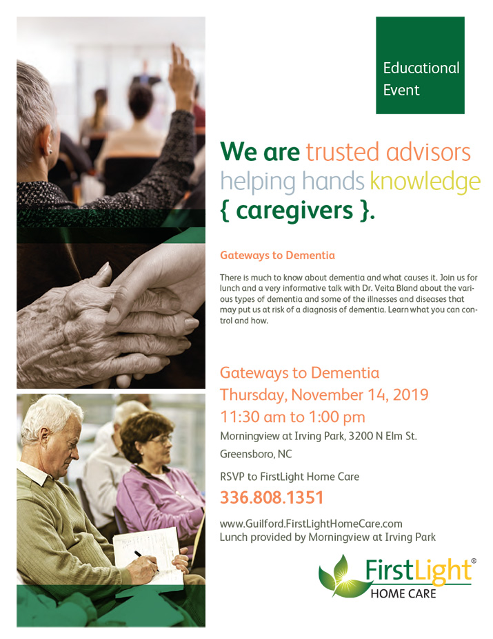 FirstLight Home Care - Gateways to Dementia Flyer
