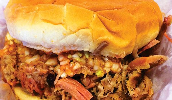 Lexington Barbecue - Sandwich