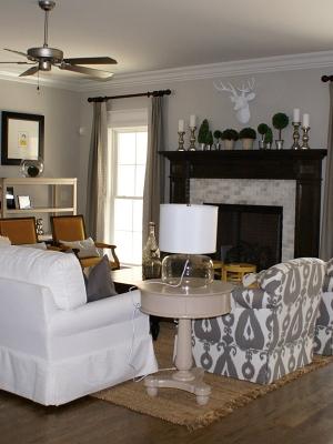 R&K Custom Homes - Living Room