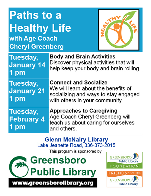 Paths to a Healthy Life - Flyer