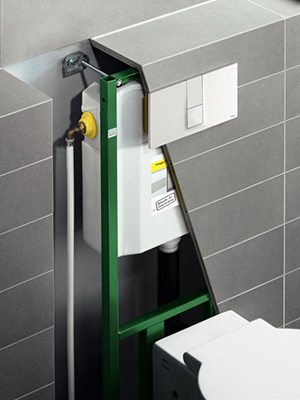 Veiga In-Wall Flushing System