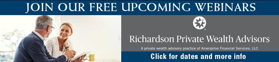 Richardson Private Wealth Advisors - Webinars Banner