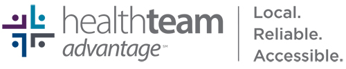 HealthTeam Advantage - Logo with Tagline