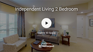 Harmony at Greenboro - Matterport Tour - Independent Living