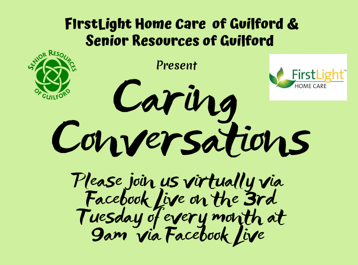 FirstLight Home Care - Caring Conversations Flyer