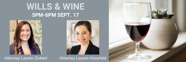 The Elderlaw Firm - Wills & Wine Virtual Happy Hour