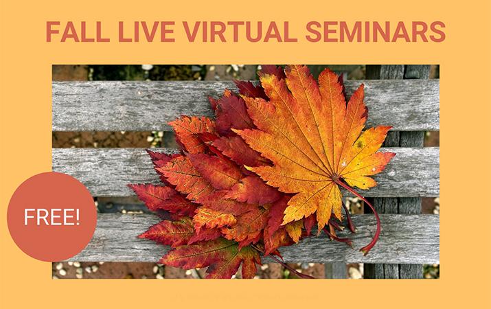 The Elderlaw Firm - Virtual Seminars Fall 2020