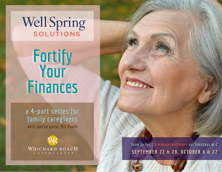 Well-Spring Solutions - Forify Your Finances Flyer