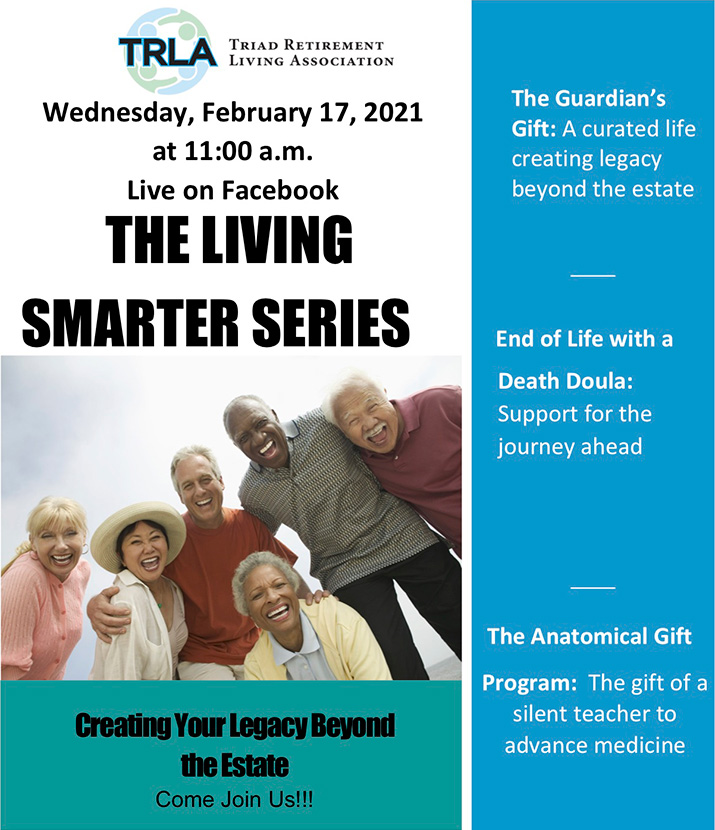 Living Smarter Series - Flyer