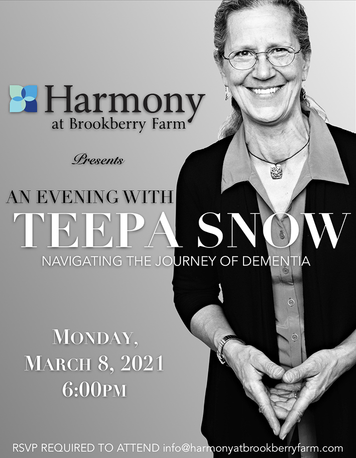 Harmony at Brookberry Farm - Teepa Snow - Event
