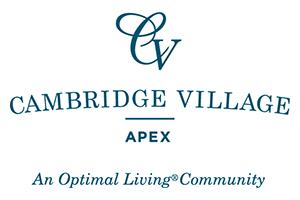 Cambridge Village of Apex - Logo