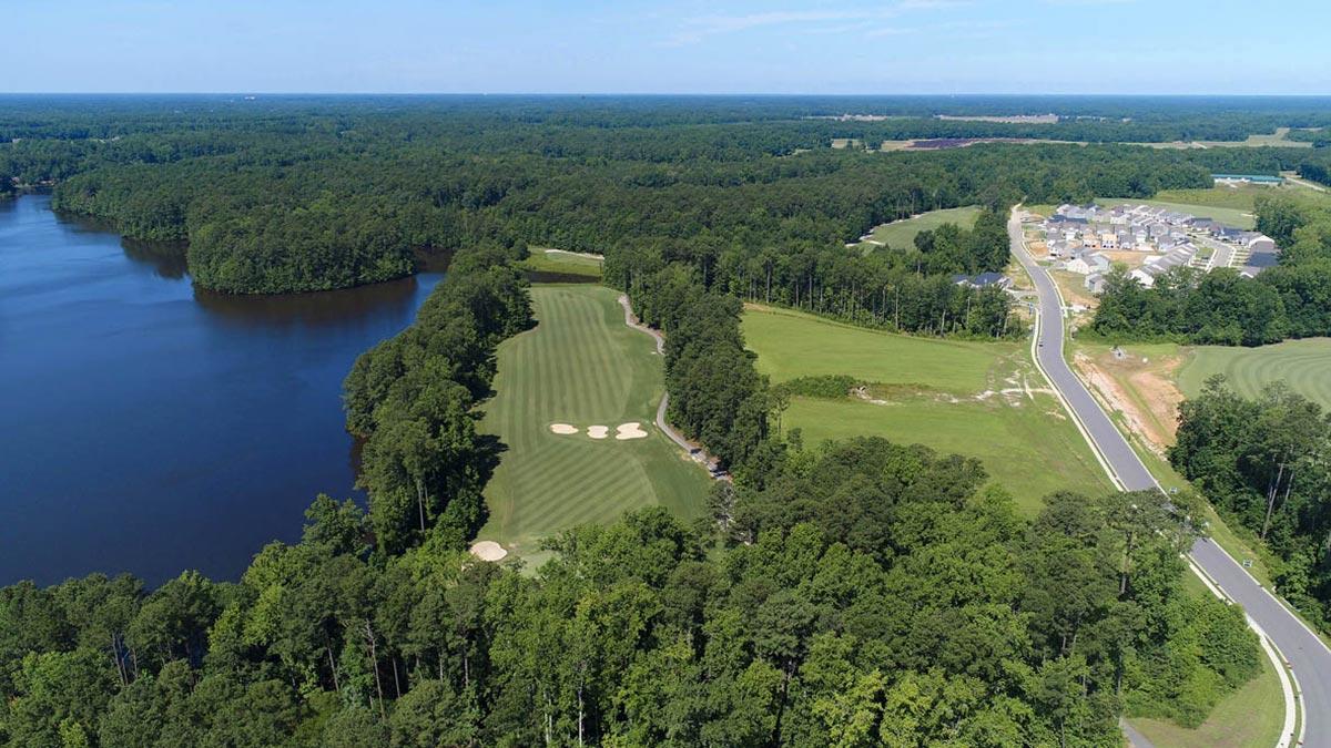 Belmont Lake Preserve - Aerial View