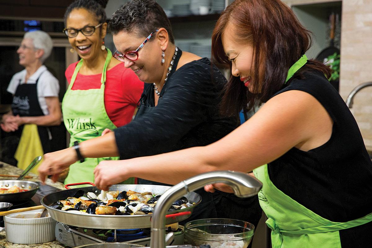 Whisk Carolina - Cooking Class