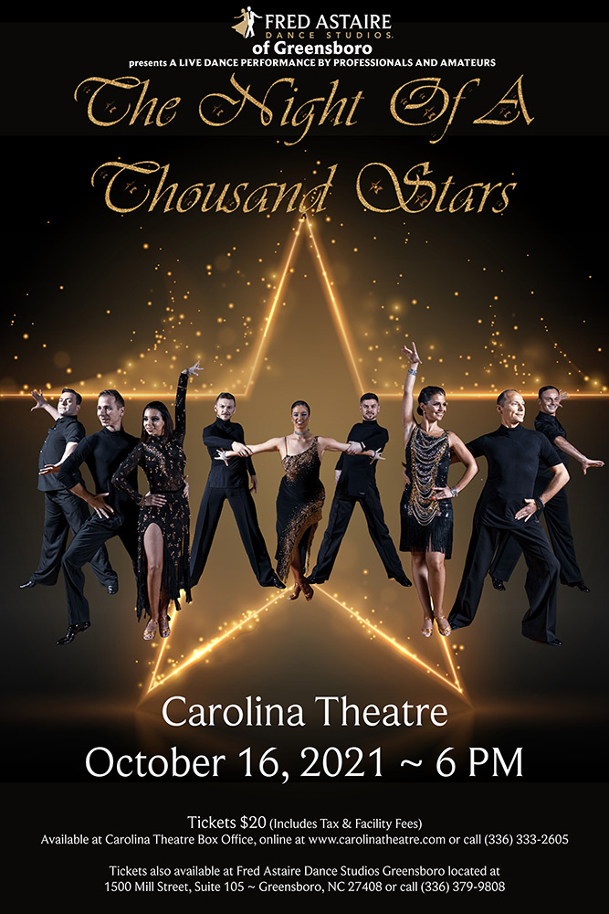 Fred Astaire Dance Studios - Night of a Thousand Stars