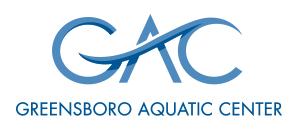 Greensboro Aquatic Center - Logo